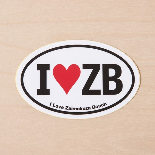I ♡ ZB sticker