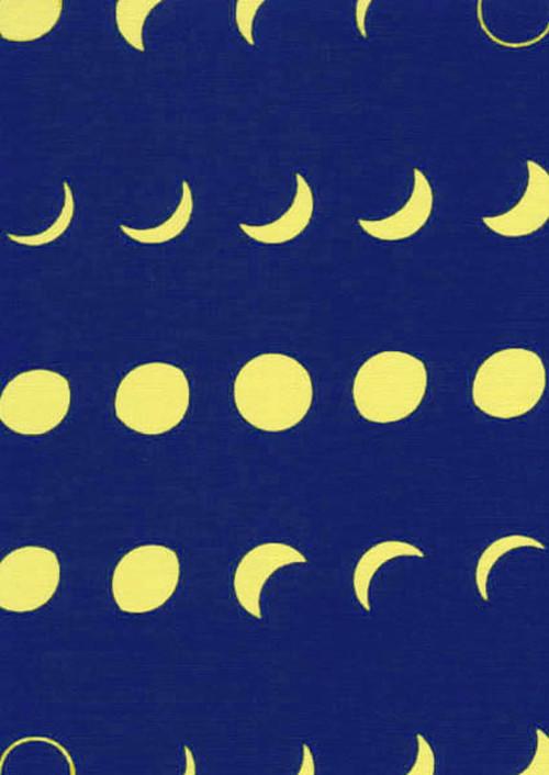 てぬぐい:月の満ち欠け
