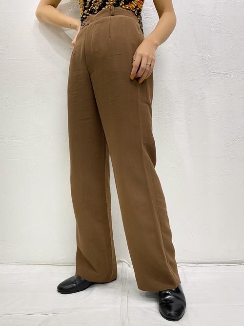 (TOYO) design straight pants