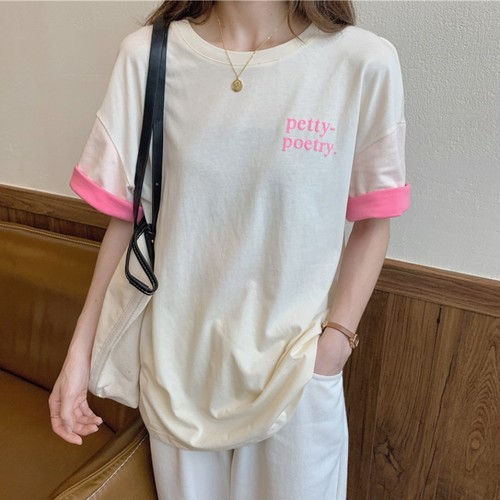 【トップス】好感度100%清新ハイエスト人気商品プリントTシャツ