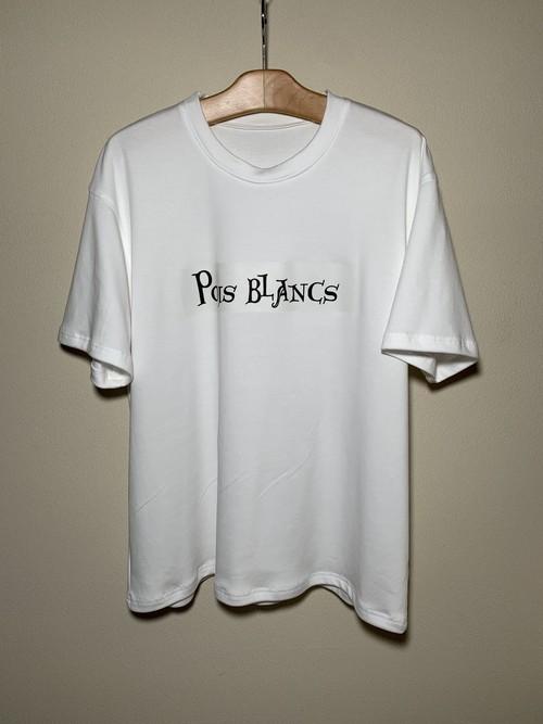 poisblancs 白 Tシャツ