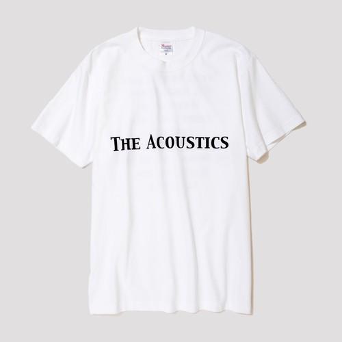 """THE ACOUSTICS"" T-Shirts [white]"