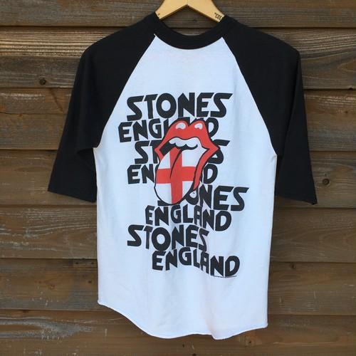 2003's ROLLING STONES LICKS ENGLAND 2003 7/S Tシャツ