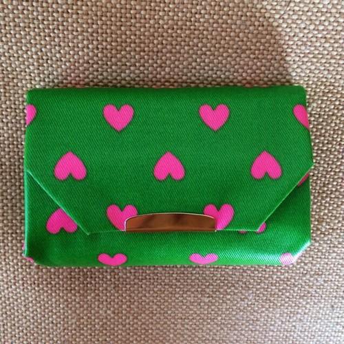 Coin Poket  : Green Heart