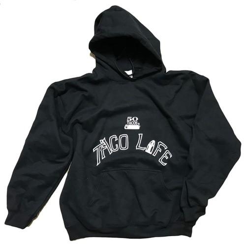 GRINDERS x Chef Kazu Taco Life hoodie