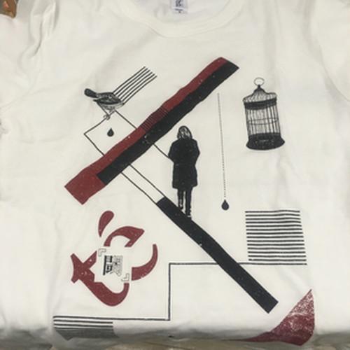 【te'】閾Tシャツ
