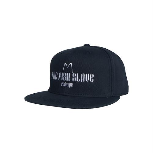 【THE FISH SLAVE SNAPBACK CAP】navy