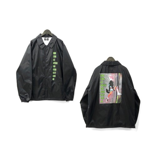 "H.I.I.D - ""O.S.B.R.MAN"" Coach Jacket ¥11000+tax"
