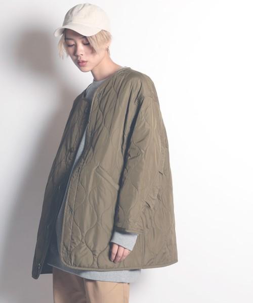 FM-211【FRANKLIN & MARSHALL/フランクリンマーシャル】Liner quilt coat/ライナーキルティングコート