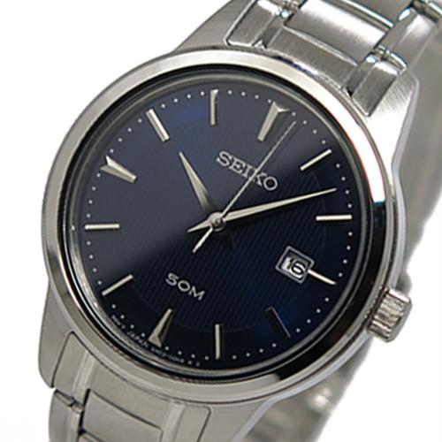 セイコー SEIKO  クオーツ レディース 腕時計 SUR849 ブルー ブルー