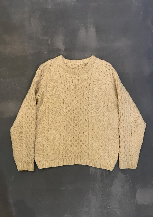 Vintage Hand made Wool Sweater [G-1082]