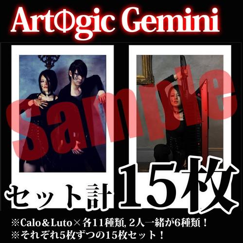 【チェキ・セット15枚】Artogic Gemini
