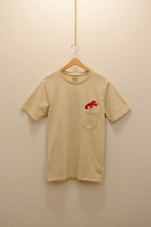 Mixta - Crew Neck Printed T-Shirt (Oatmeal / Lobster)