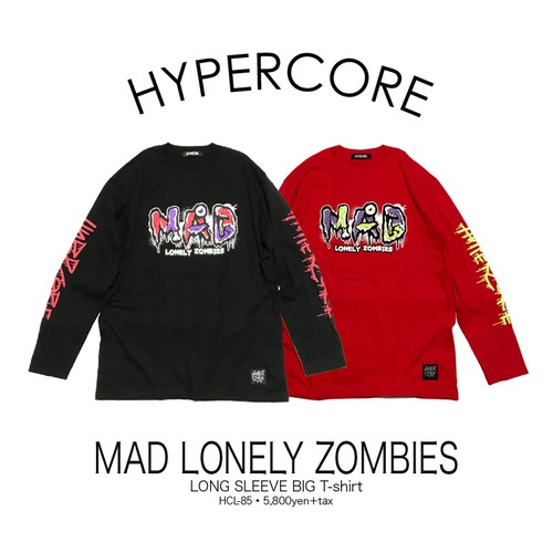 L-85 MAD LONELY ZOMBIESロングスリーブTシャツ