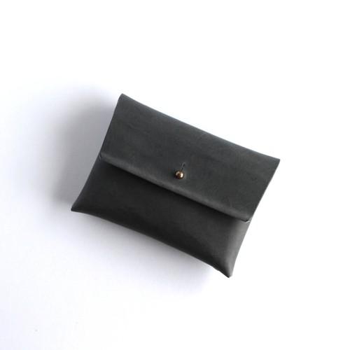 suare card case #D.gray/ スアレカードケース・名刺入れ #ダークグレー