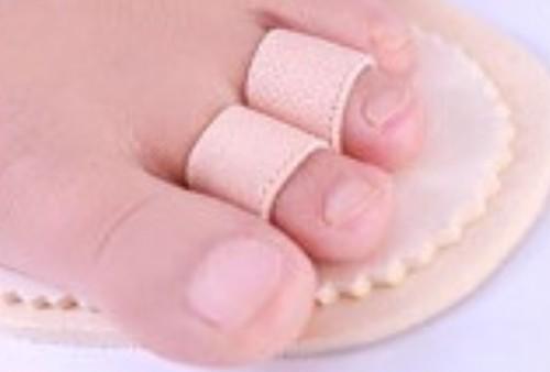 足指矯正補装具 2本指タイプ(槌指、ハンマートゥー、クロートゥー、マレットトゥーなど)