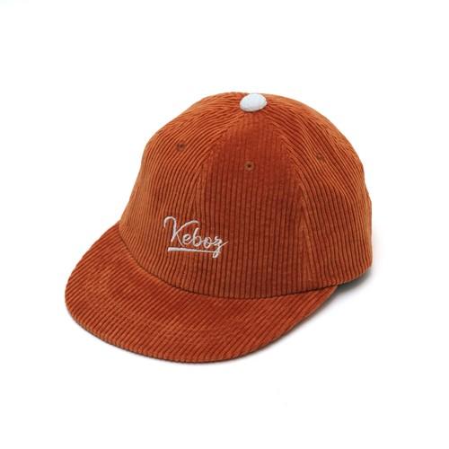 CORDUROY CAP【ORANGE】