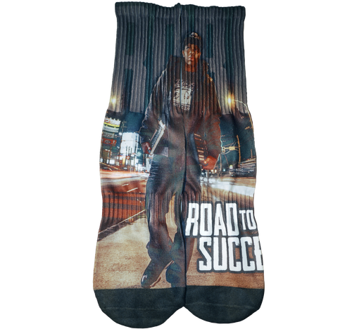 """ROAD TO SUCCESS"" SP Edition Socks (Free size)"