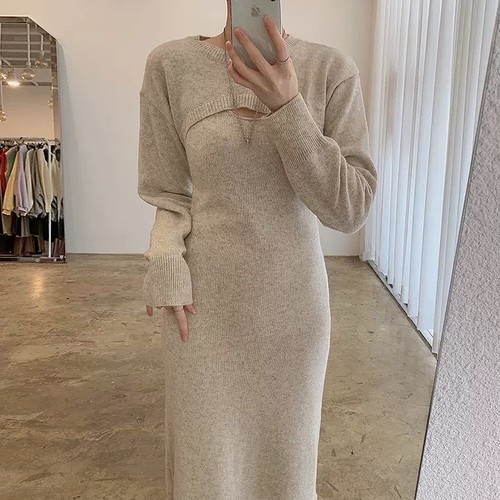 loose sexy dress 3color