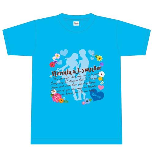 Tシャツ ターコイズ (ハーミア&ライサンダー)
