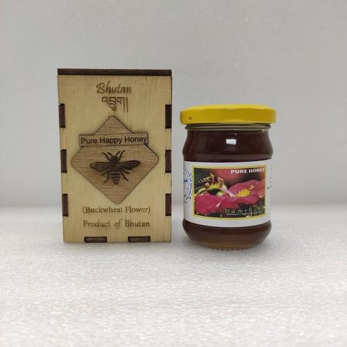 ブータン産はちみつ  Pure Happy Honey Buckwheat (ピンクのそばの花)100g 1瓶