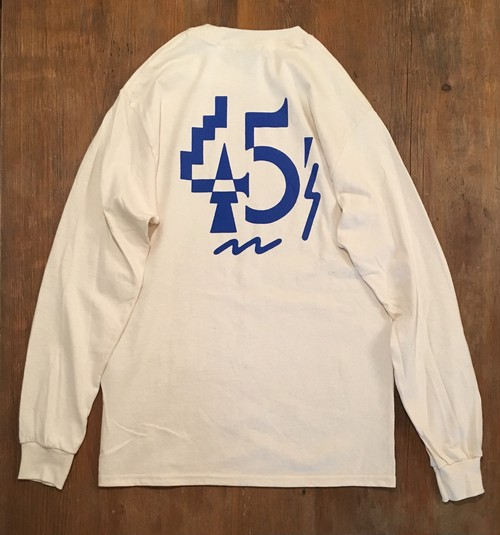 DISCO45's/LONG SLEEVE TEE