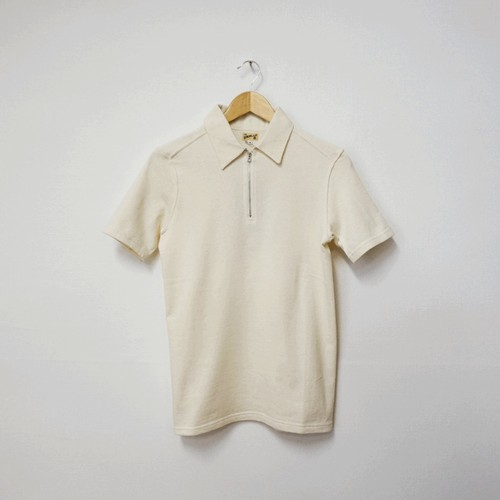 HALF ZIP T-SHIRT (FRENCH TERRY)
