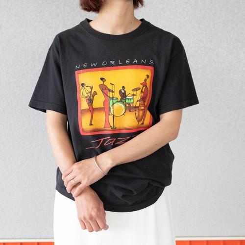 print T-shirts   New Orleans JAZZ