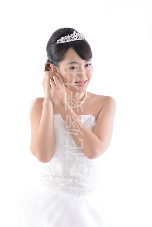 【0187】ポーズを取る花嫁