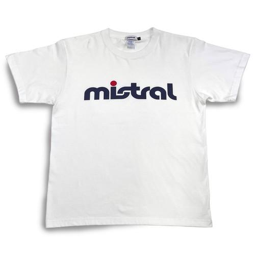 ミストラル ユニセックス [コットン半袖Tシャツ - ミストラル - ] WHITE