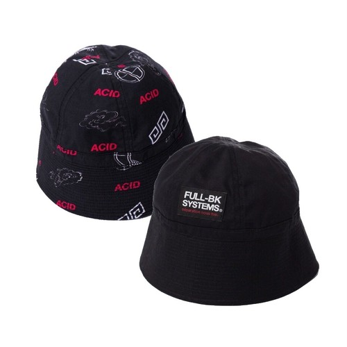 FULL-BK - REVERSIBLE HAT TYPE 02 (BLACK)