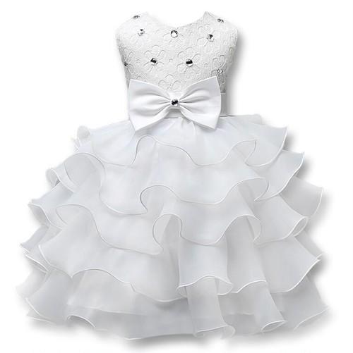 8481子供ドレス キッズ ベビー ジュニア 女の子ドレス フォーマルドレス ワンピース