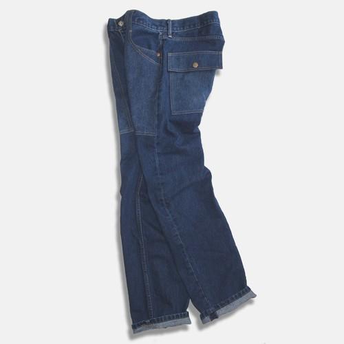 WCH 505's Remake Fatigue Denim Jeans #D