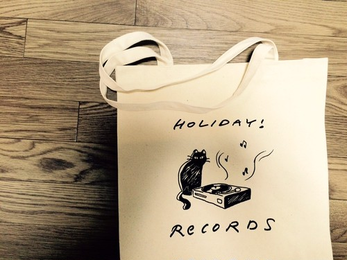 HOLIDAY! RECORDS 猫トートバッグ