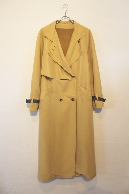 "[WEB ORDER]""A LITTLE TOO SERIOUS"" Light Trench-coat"