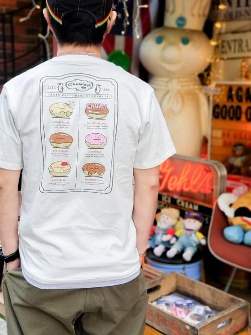 CHUMS チャムス DONUT MENU Tシャツ