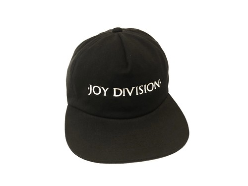 UNCONSTRUCTED SNAPBACK (BLACK) / JOY DIVISION × PLEASURES