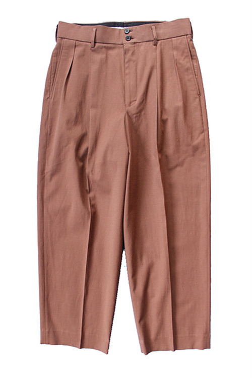 (MARKAWARE) DOUBLE PLEATED TROUSERS