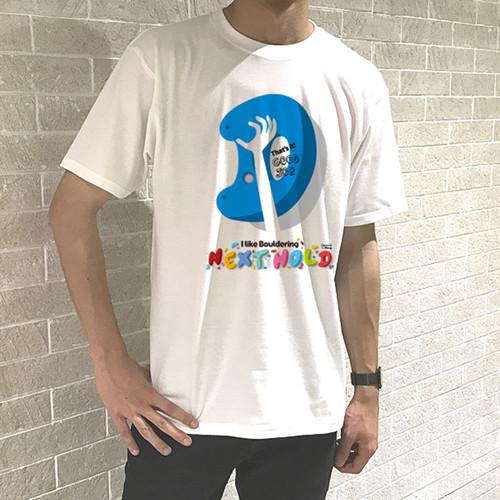 """ボルダリング """"D"""" メンズ Tシャツ"""