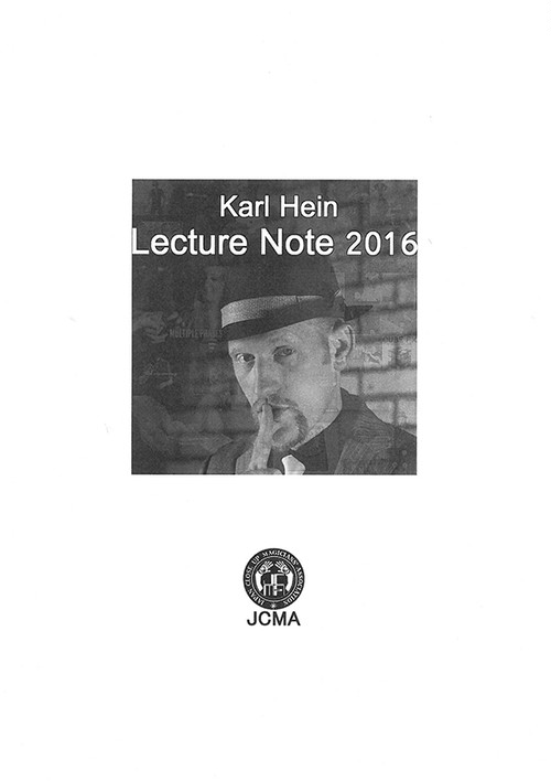 Karl Hein Lecture Note 2016