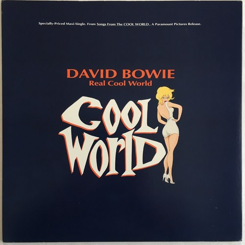 【12inch・米盤】David Bowie /  Real Cool World