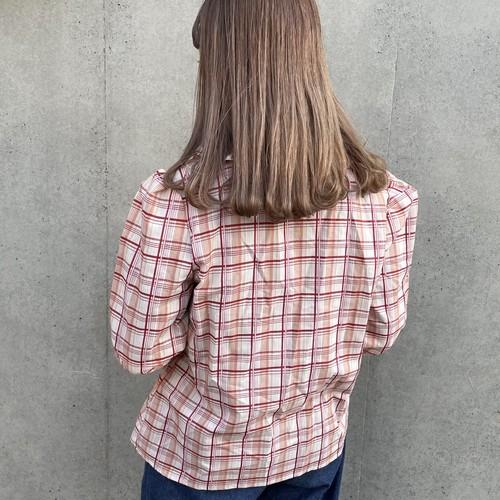 (LOOK) check design shirt