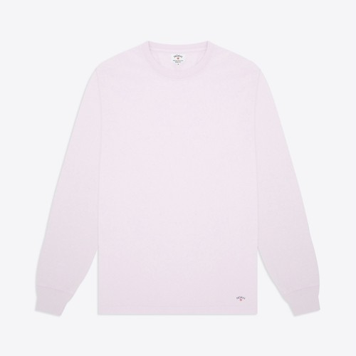 Recycled Cotton Long Sleeve Tee(Orchid)