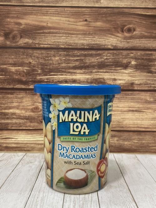 マウナロア マカダミアナッツ ドライロースト塩味 4.0oz(113g)