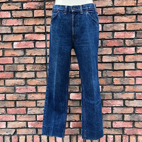 1980s U.K. Levi's Jeans #631 W33 L36 Made In England