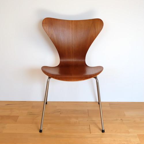 Fritz Hansen(フリッツ・ハンセン) セブンチェア 3107 Arne Jacobsen(アルネ・ヤコブセン) チーク ビンテージ 初期