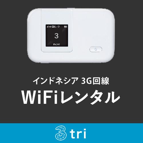 インドネシア用 モバイルWiFiレンタル 10-14日用 期間合計3GB