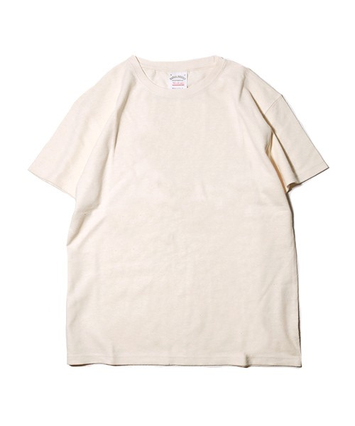 CREW NECK HEMP TEE HEAVY