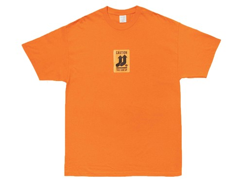 WHIMSY / PULL UP TEE -ORANGE-