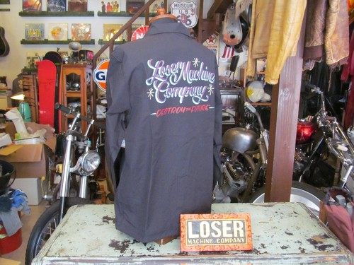 LOSER MACHINE COACH'S JACKET EL CAMINO / BLACK